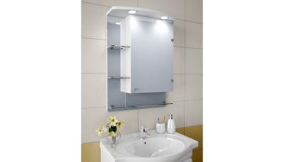 Garnitur.plus Шкаф зеркальный с подсветкой 86-S