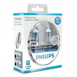 Philips H4 12342WHVSM White Vision Blister (2шт.)