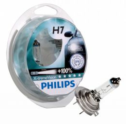 Philips H7 12972XVS2New X-treme Vision +130% Blister (2шт.)