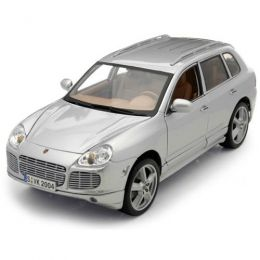 MAISTO Автомодель (1:18) Porsche Cayenne Exclusive Turbo серебристый (31113 silver)