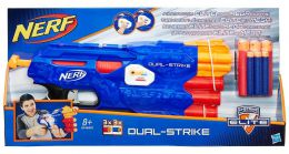 Hasbro Бластер Nerf Elite Dual-Strike (B4620)